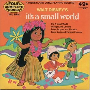 Walt Disney's It's A Small World 7-Inch Record Set